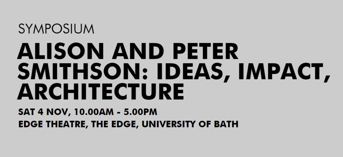 DAVID CASINO speaker at ALISON AND PETER SMITHSON : IDEAS, IMPACT, ARCHITECTURE